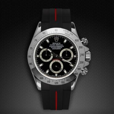 Rubber B - Cinturino - Rolex Daytona 116520/116523/116529 art. RU05