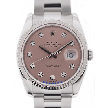 Rolex Datejust Ref. 116234 Diamanti 01/2013 art. Rz1390