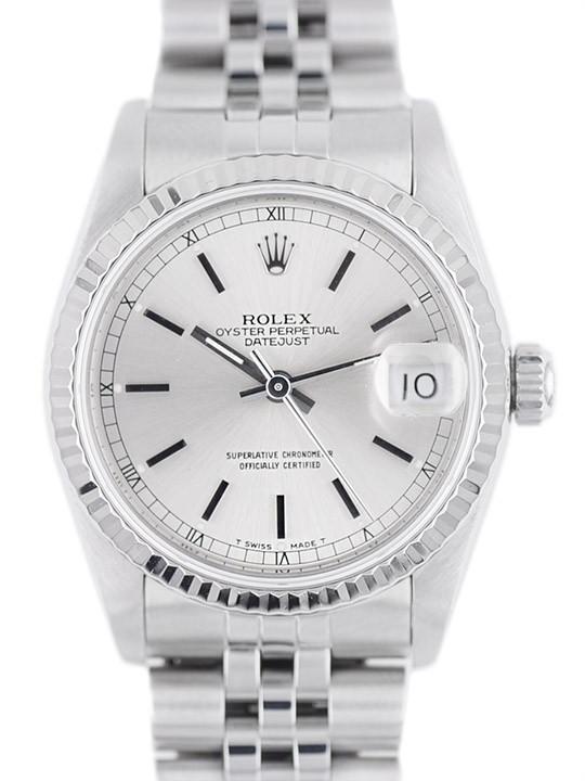 Rolex Medio Datejust ref.68274 garanzia originale Art. Rm173