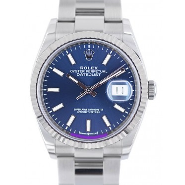 Rolex Datejust ref.126234 scatola e garanzia 02/2020 Art. Rjn87