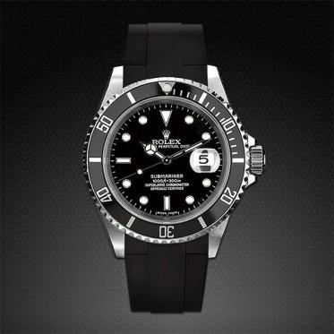 Rubber B - Cinturino - Rolex Submariner 16610/14060 art. RU02