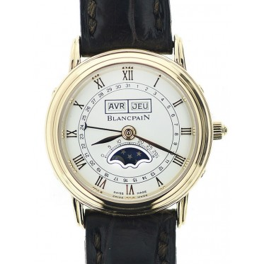 Blancpain Villeret Lady Manuale Oro Calendario Completo OFFICIAL
