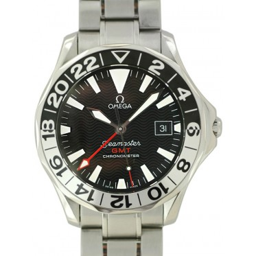 Omega Seamaster GMT 50th years Special Edition 06/2002 art. Om74