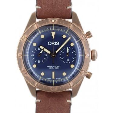 Oris Carl Brashear Limited chrono bronzo full set 09/2019 Art. Nr370