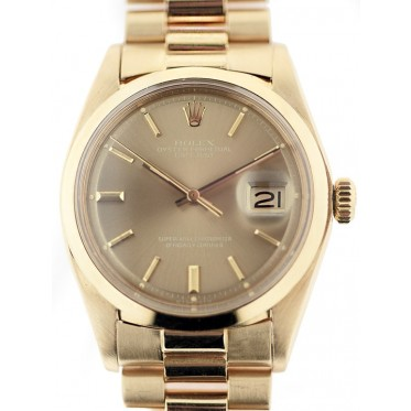 Rolex Datejust oro Art. Rs252