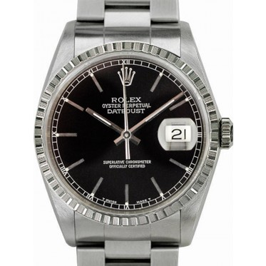 Rolex datejust zaffiro Ref. 16220 SCAT/GAR art. Rz1227