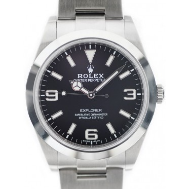 Rolex Explorer I 39mm Ref.214270 NEW DIAL 12/2016 art. Re1430