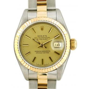 Rolex Lady Datejust acc. oro art. RL695ar