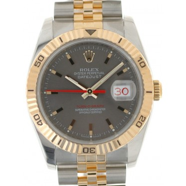 Rolex Datejust Turnograph Acc Oro 01/2009 art. Rt826