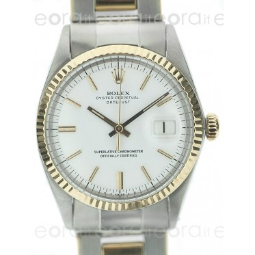 Rolex Datejust 1601 acc-oro art. Rs19