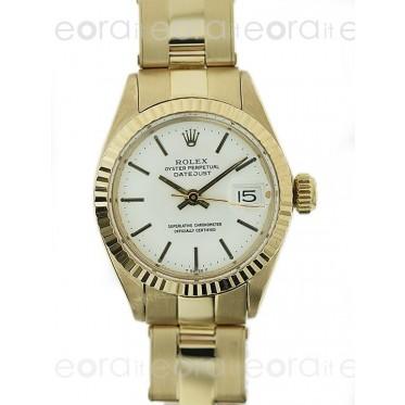 Rolex Lady Datejust 6917 Oro Giallo SCAT/GAR art. RL72