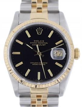 Rolex Datejust acc-oro zaffiro SCAT/GAR art. Rz150