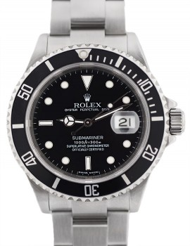 Rolex Submariner SEL (senza buchi) SCAT/GAR carta credito art. R