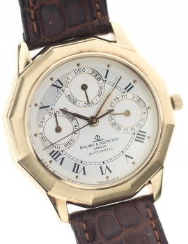Baume & Mercier Riviera Oro Calendario Annuale 12/1994 LIMITED