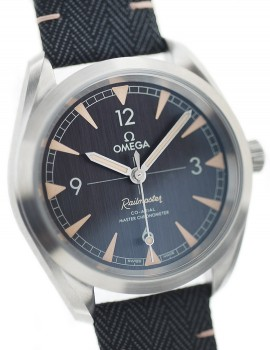 Omega Seamaster Railmaster Co Axial MAI INDOSSATO art. Om355
