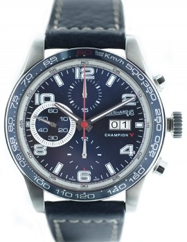 Eberhard Champion V chrono gran data Come Nuovo Art. Eb232