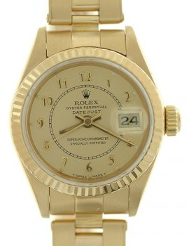 Rolex Lady Datejust Oro Zaffiro art. RL1259