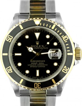 Rolex Submariner acc-oro SCAT/GAR art. Rb633