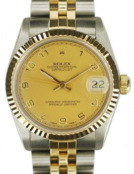 Rolex Medio Datejust acc-oro art. Rm295