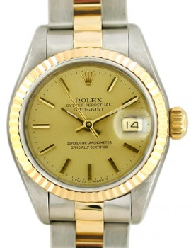 Rolex Lady Datejust acc. oro art. RL695ar