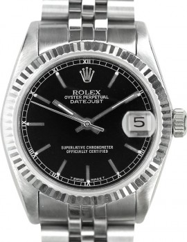 Rolex Medio Datejust zaffiro art. Rm259n