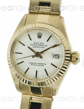Rolex Lady Datejust 6917 Oro Giallo SCAT/GAR art. RL72