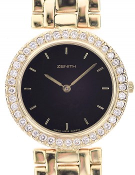 Zenith Medio (Donna) oro giallo Diamanti quartz 12/1998 art. Z39