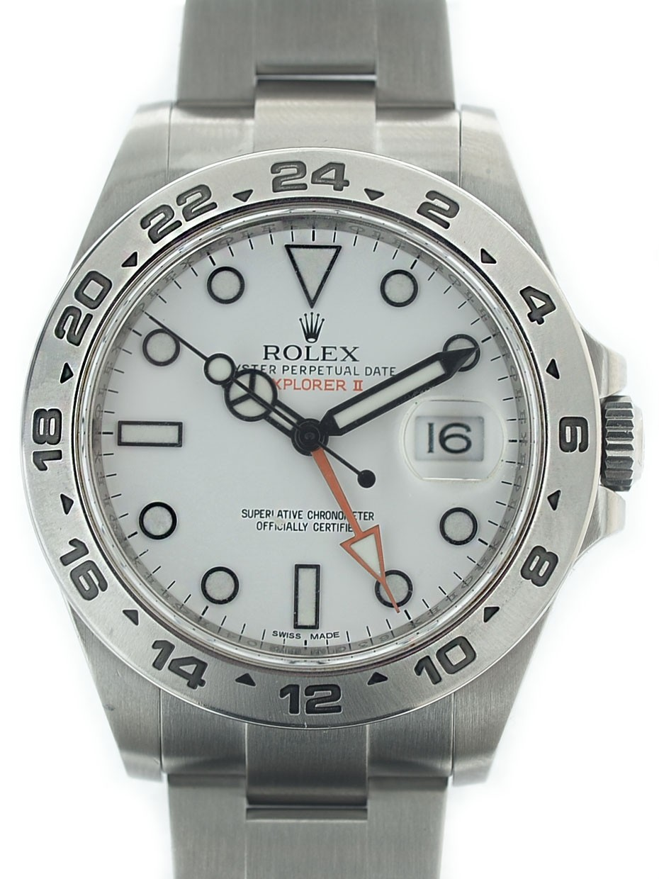 Rolex Explorer ll 216570 scat/gar Art. Re10