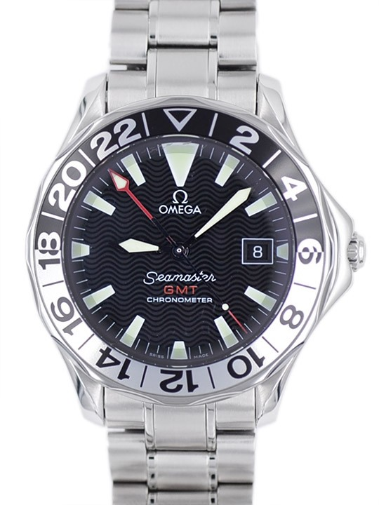 """Omega Seamaster 300 Gmt - """"50th Years"""" Special Edition - full set Art. Om74"""