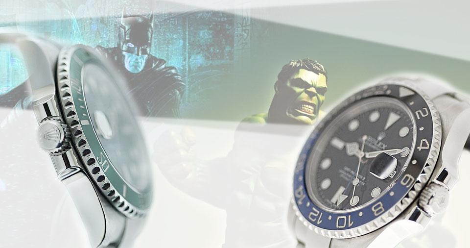 Batmane Hulk: orologi da supereroi?