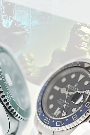 Rolex Batman e Rolex Hulk
