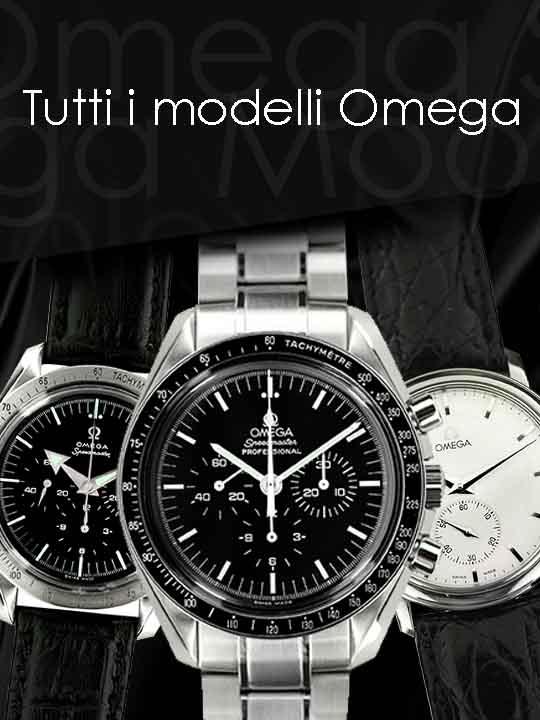 Tutti gli orologi Omega presenti nel nostro catalogo