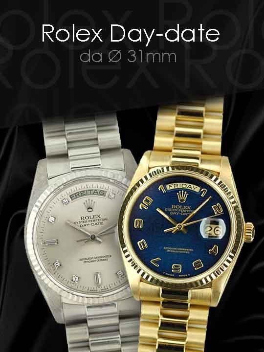 Tutti i modelli Rolex presenti nel nostro catalogo
