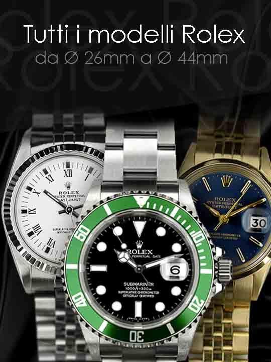Tutti i modelli di Rolex del nostro Catalogo